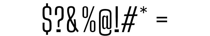 Big Shoulders Text Light Font OTHER CHARS