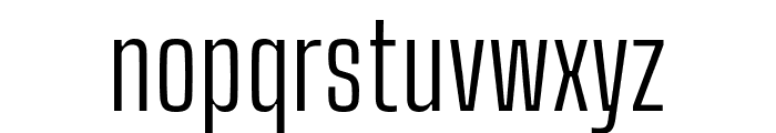 Big Shoulders Text Light Font LOWERCASE
