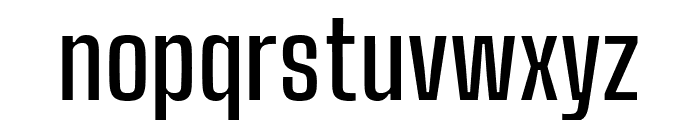 Big Shoulders Text SemiBold Font LOWERCASE
