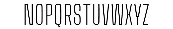 Big Shoulders Text Thin Font UPPERCASE