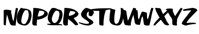 Big Sky Regular ttnorm Font UPPERCASE