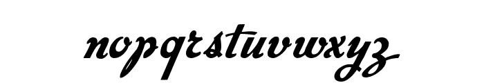 Big Surprise Font LOWERCASE