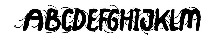Big Top Font UPPERCASE