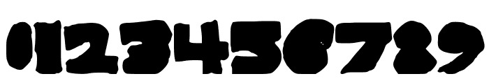 BigAndThick Font OTHER CHARS