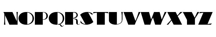BigApple Font UPPERCASE