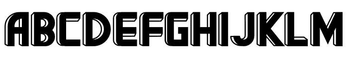 BigBOBY 3D Font UPPERCASE