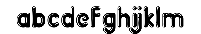 BigBOBY Balloons Font LOWERCASE
