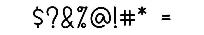 BigBoy Font OTHER CHARS
