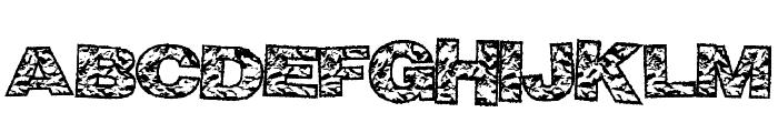 BigCrump Font UPPERCASE