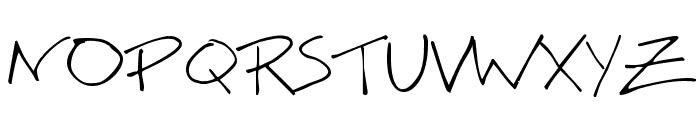 BigMisterC Font UPPERCASE