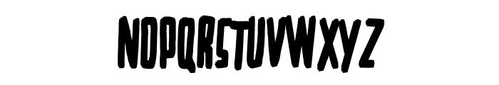 BigMom Regular Font UPPERCASE