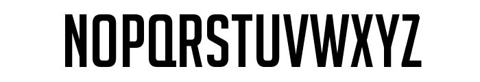 BigNoodleTitling Font UPPERCASE
