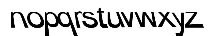BigRedDAy Normal Font LOWERCASE