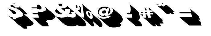 BigShadowsLeftOblique Font OTHER CHARS