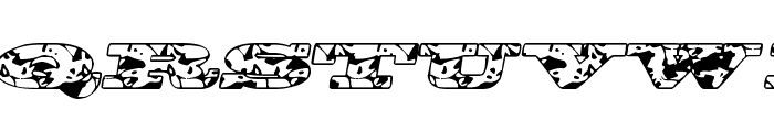 BigSpit Font LOWERCASE