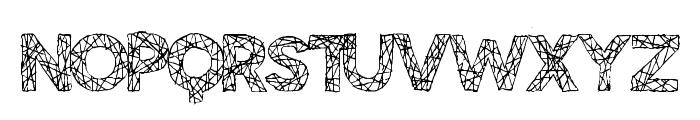 BigTangle Font UPPERCASE