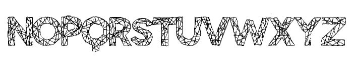 BigTangle Font LOWERCASE