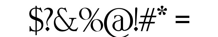 BigTeezSq Font OTHER CHARS