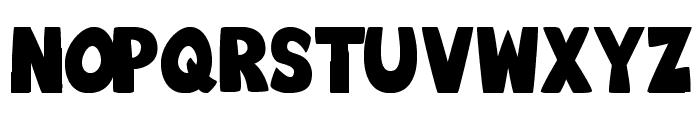 Big_Bottom_Typeface_Normal Font UPPERCASE