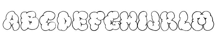 Bigardo Fanzine 3 Font UPPERCASE