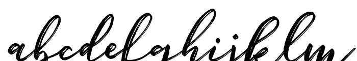 Bigbroade Demo Font LOWERCASE