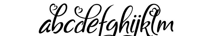 Bigdey Demo Font LOWERCASE