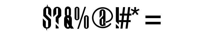 Bigdog Font OTHER CHARS