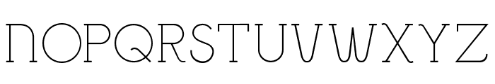 Bigmouth Font UPPERCASE