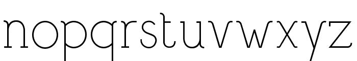 Bigmouth Font LOWERCASE