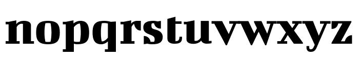 Bigshot One Regular Font LOWERCASE