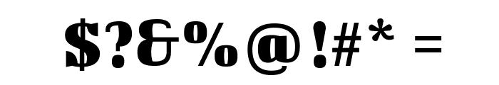 BigshotOne Font OTHER CHARS