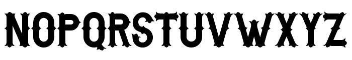 BikerfromHell Font UPPERCASE