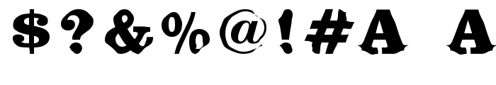 Bikini Font OTHER CHARS
