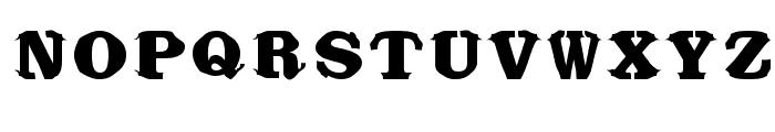 Bikini Font UPPERCASE