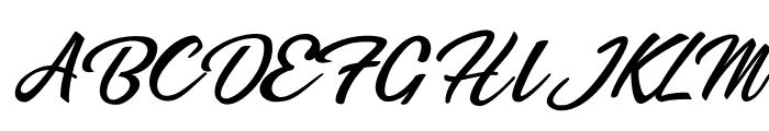 Bikinis Personal Use Font UPPERCASE