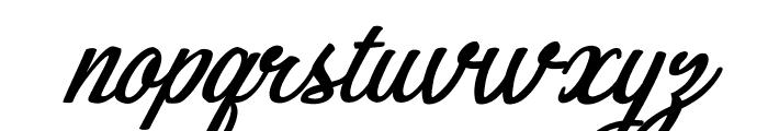Bikinis Personal Use Font LOWERCASE