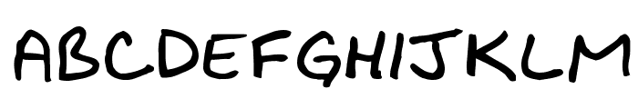 Bikly Bold Font LOWERCASE