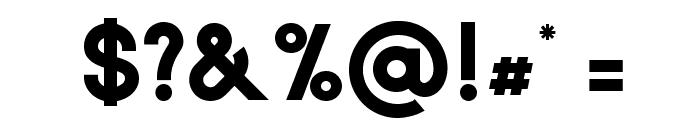 Biko-Bold Font OTHER CHARS