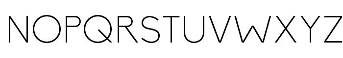 Biko-Light Font UPPERCASE
