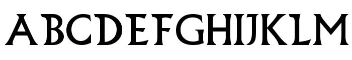 Bilbao Font LOWERCASE
