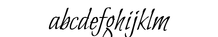 Bilbo Regular Font LOWERCASE