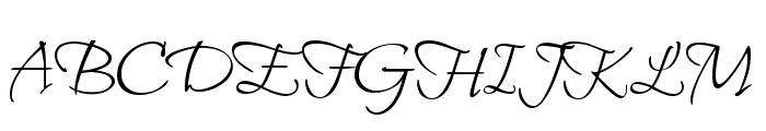 Bilbo Swash Caps Regular Font UPPERCASE