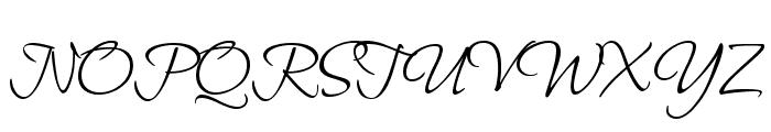 Bilbo Swash Caps Font UPPERCASE