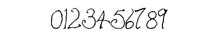 Bilbo-hand Regular Font OTHER CHARS