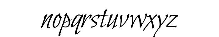 BilboSwashCaps-Regular Font LOWERCASE