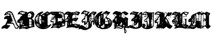 Bill Hicks 5 Font UPPERCASE