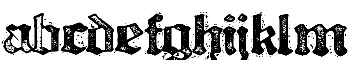 Bill Hicks 5 Font LOWERCASE