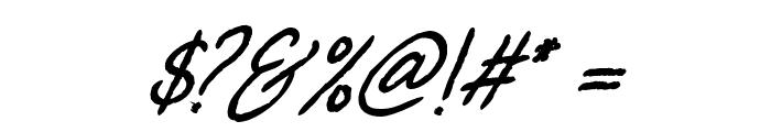 Billenia-Standard Font OTHER CHARS