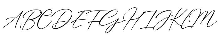 Billie Bonnie Font UPPERCASE