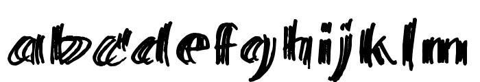 BillieBarred06 Font LOWERCASE